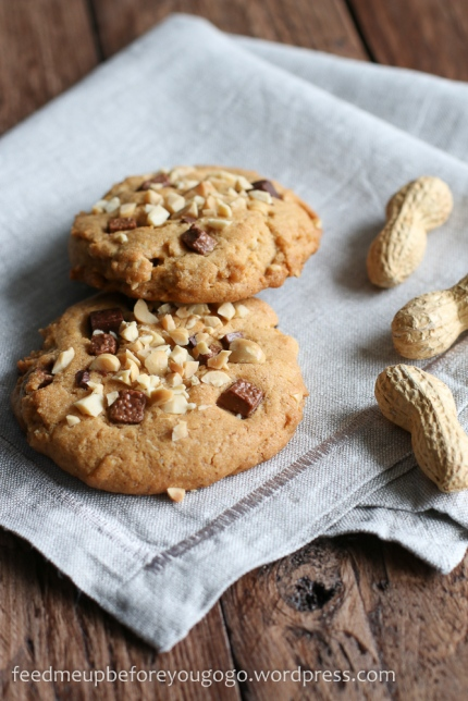 Peanutbutter Chocolate Chip Cookies-2